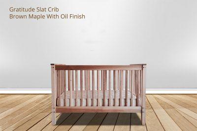Gratitude Slat Crib from Gimme the Good Stuff