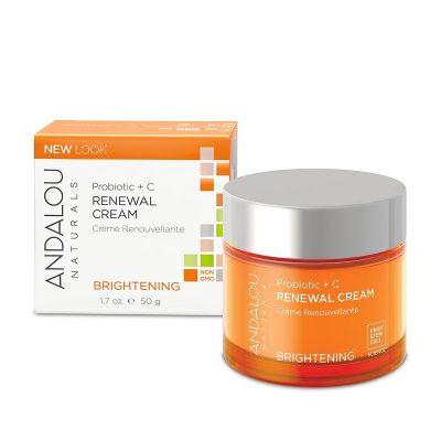 Andalou Naturals Probiotic + C Renewal Cream