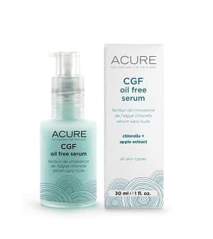 Acure Organics CGF Oil Free Serum