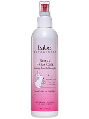 Babo Botanicals Berry Primrose Detangler