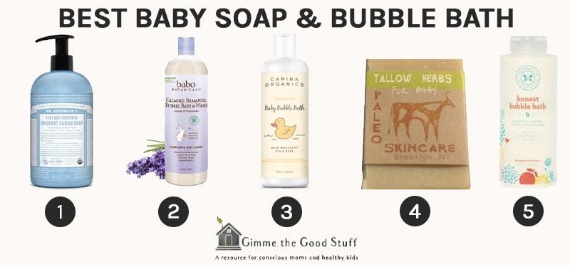 Best Baby Soap & Bubble Bath