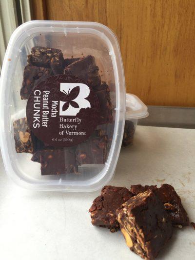 Butterfly Bakery Mocha Peanut butter chunks from gimme the good stuff