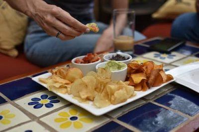 Costa Rica Finca Rosa Blanca chip plate