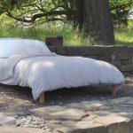 Soaring Heart Organic Cotton, Latex & Wool Futon from Gimme the Good Stuff