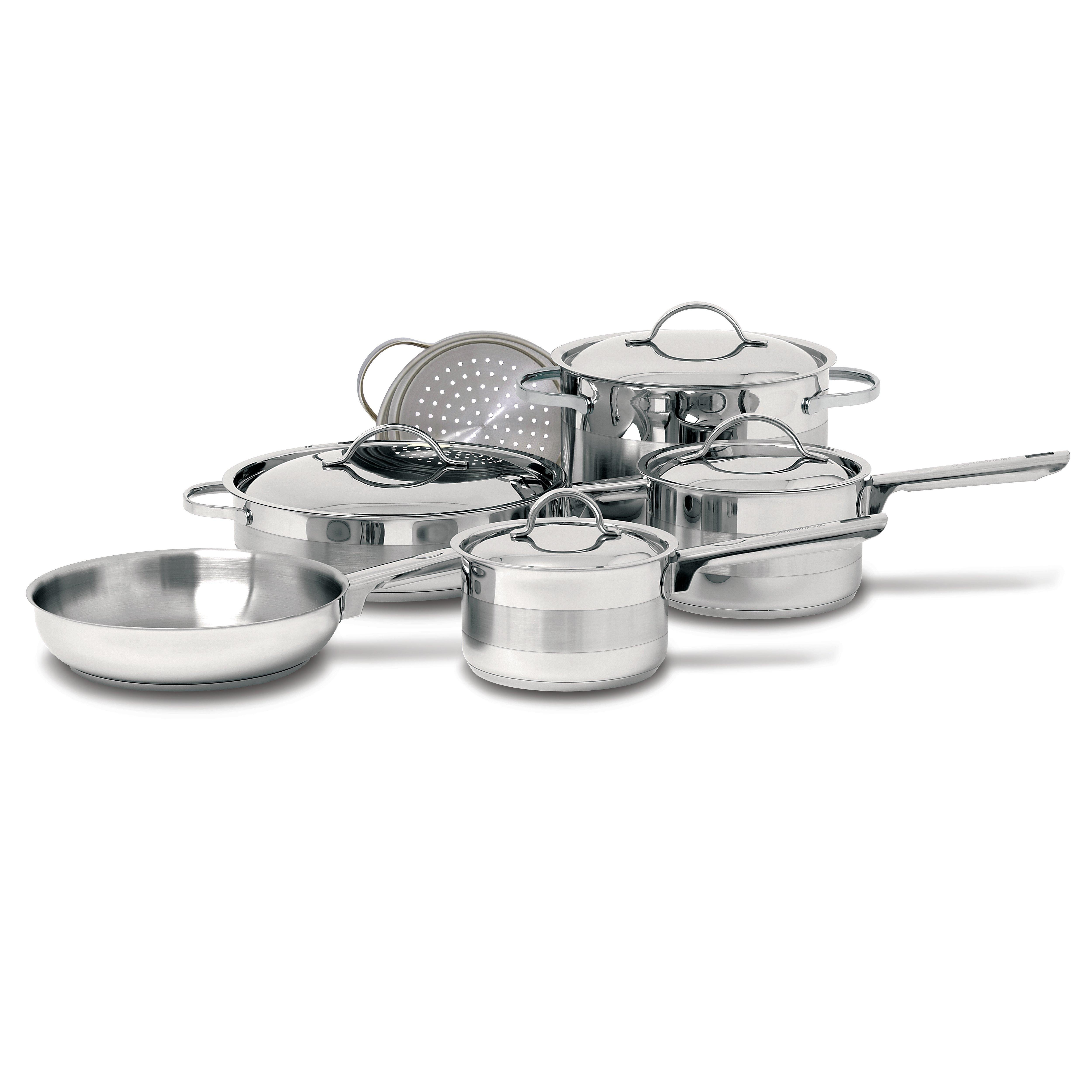 Cuisinox Gourmet 10 Piece Cookware Set gimme the good stuff