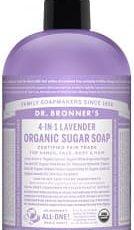 Dr. Bronners Organic Sugar Soap – Lavender