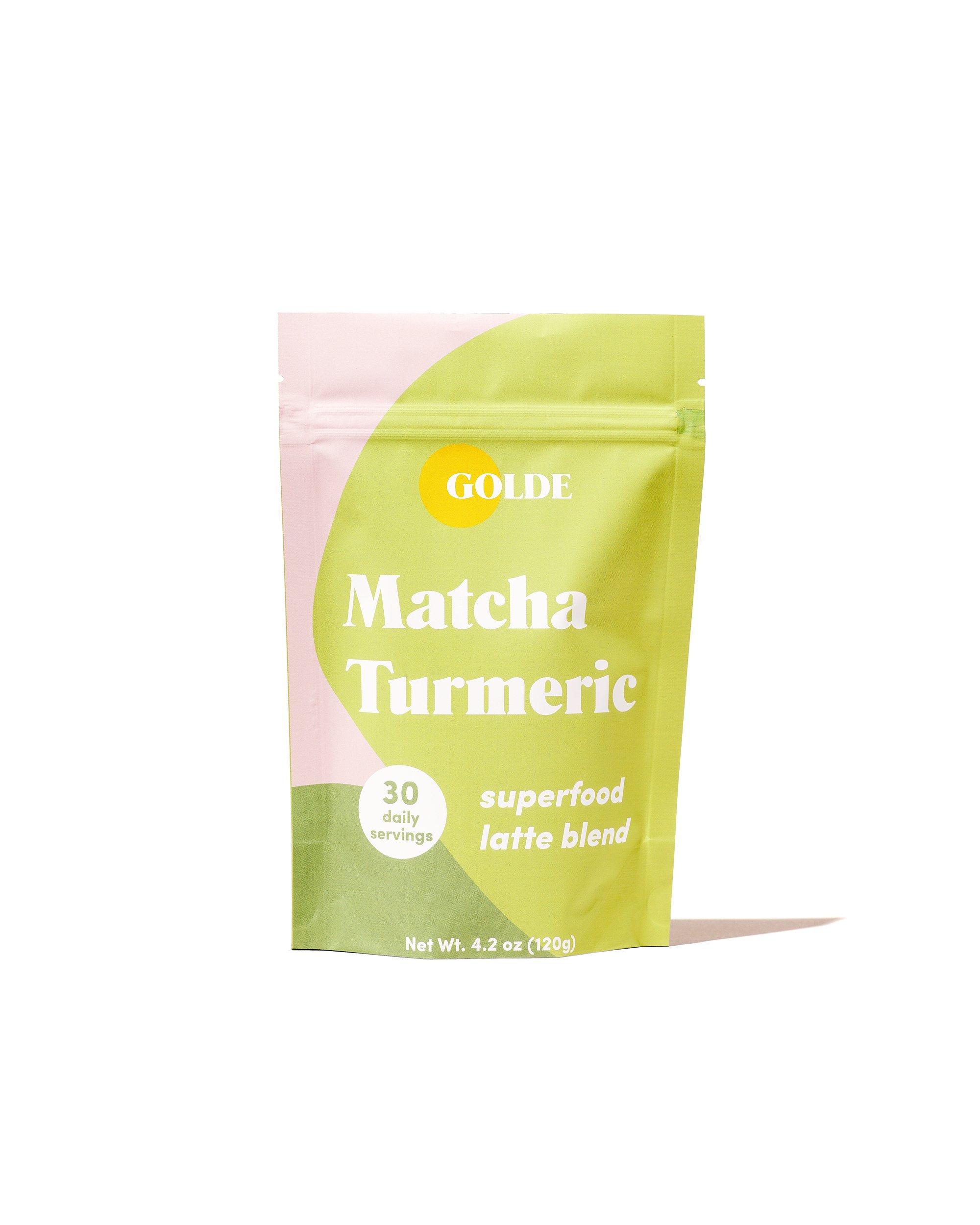 Golde Matcha Turmeric Latte Blend gimme the good stuff