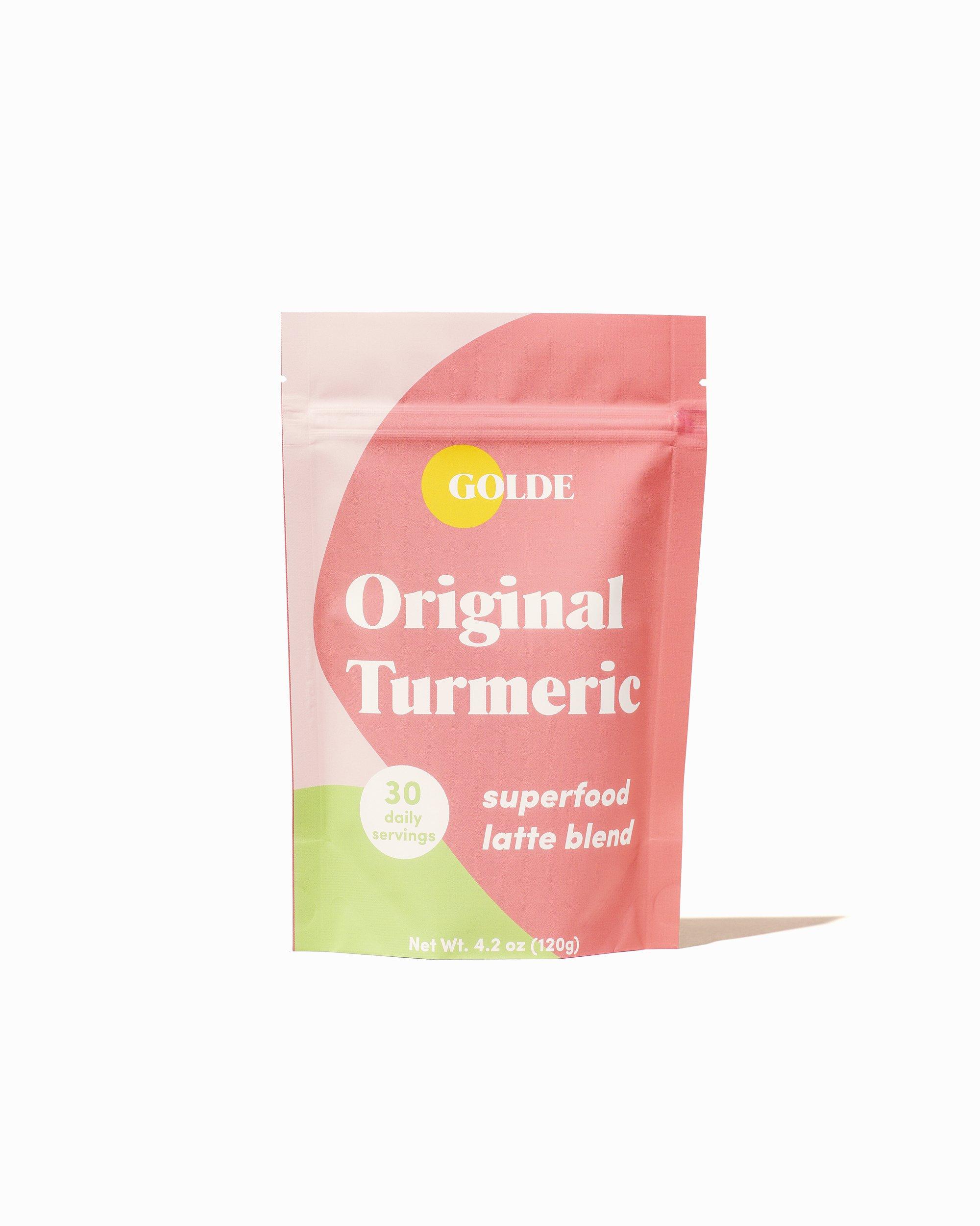 Golde Original Turmeric Latte Blend gimme the good stuff