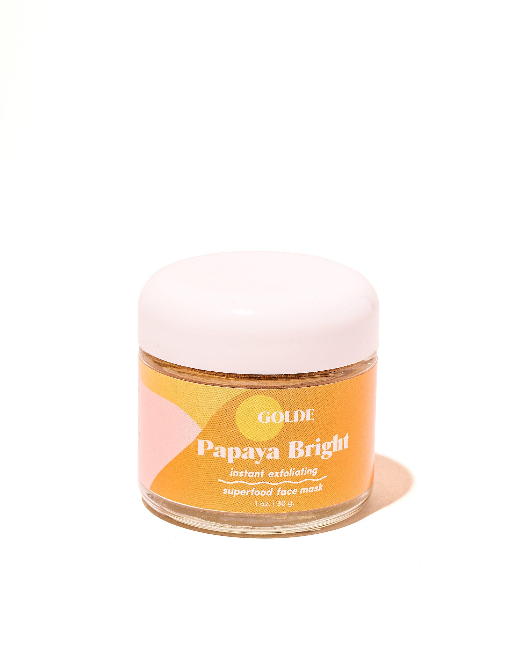 Golde Papaya Bright Face Mask gimme the good stuff