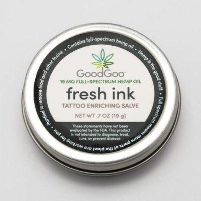 Good Goo Full Spectrum Fresh Ink Hemp Salve