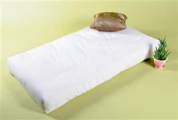 White Lotus Green Cotton & Wool Dreamton Futon from Gimme the Good Stuff