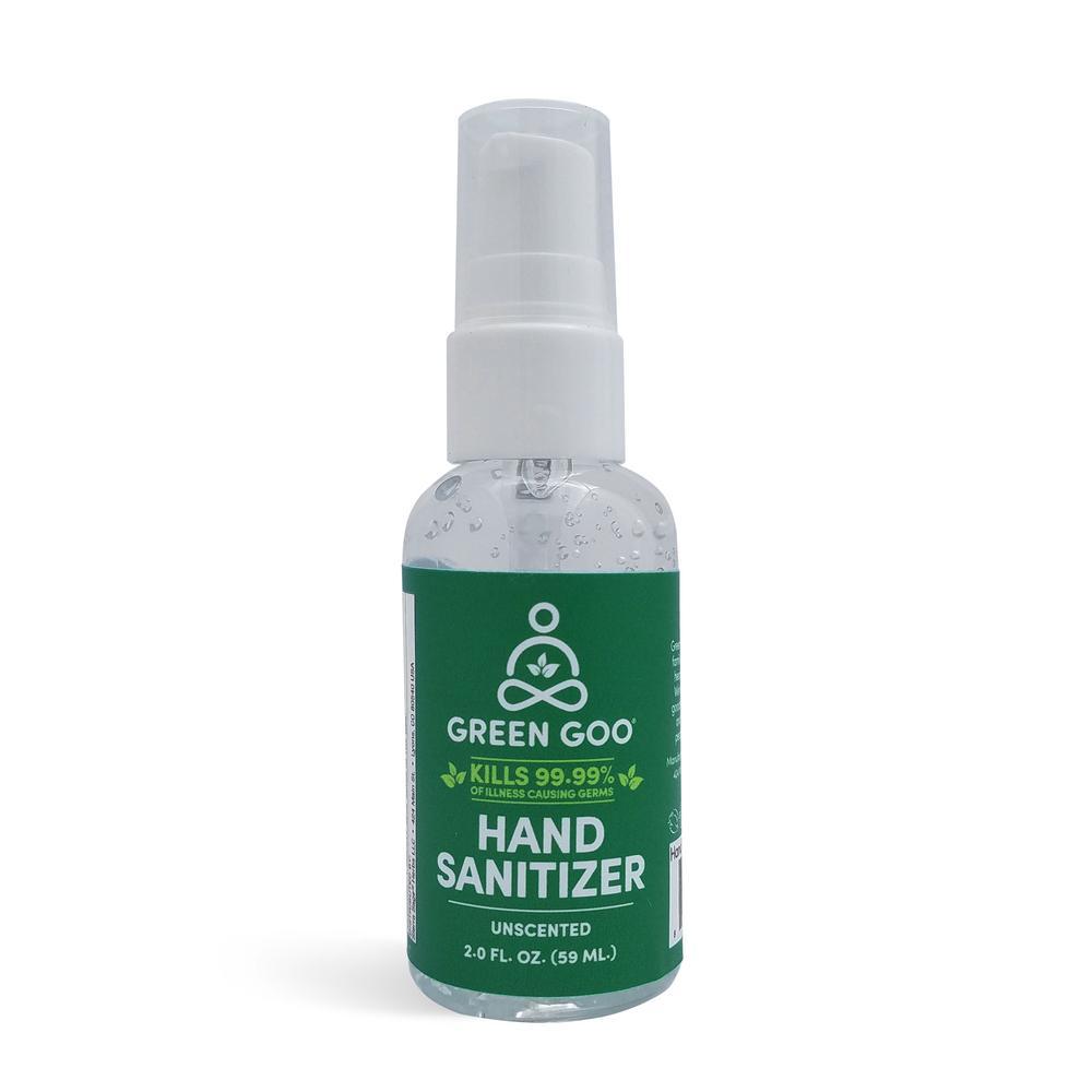Green Goo Sanitizer Pump Top from Gimme the Good Stuff