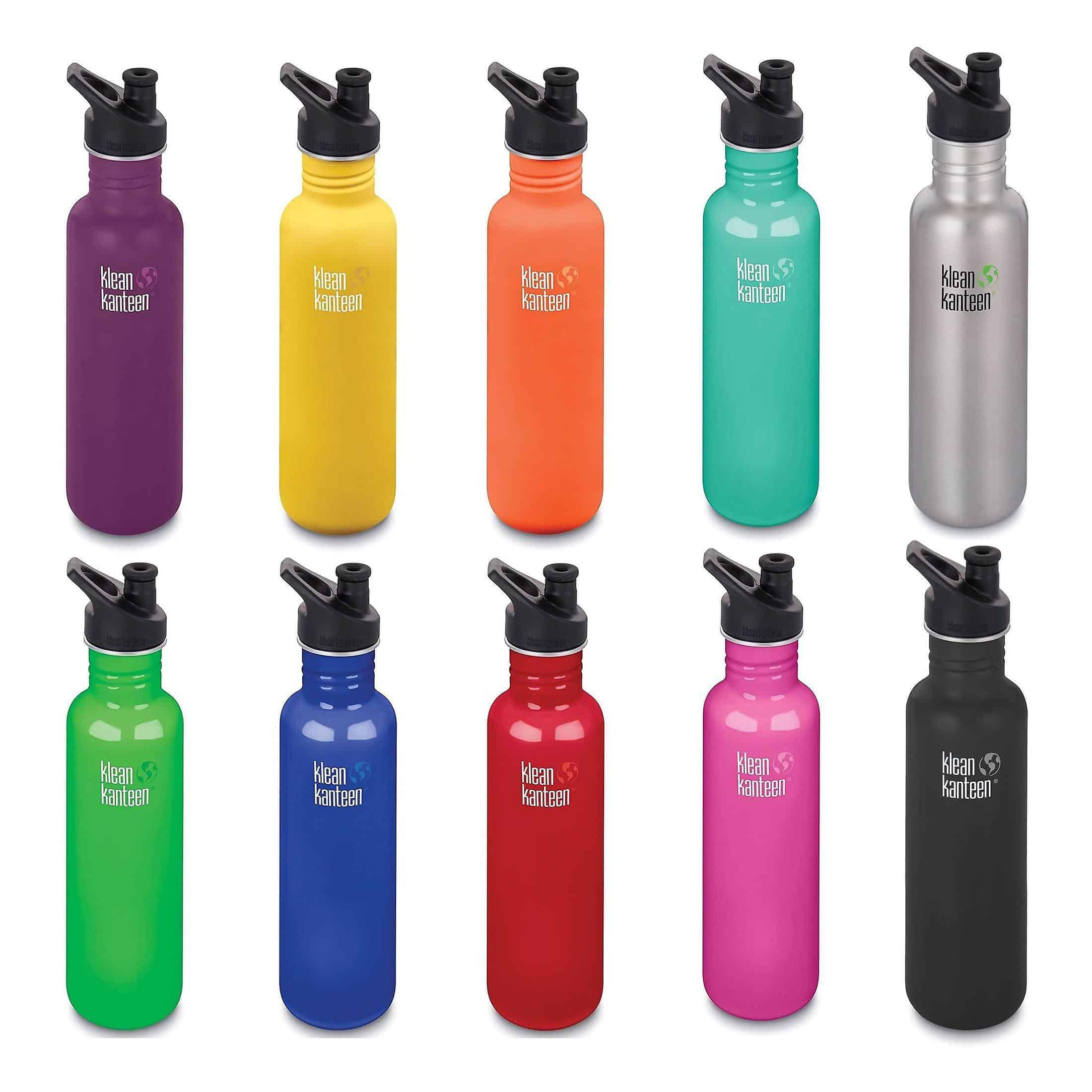 Klean Kanteen 27 oz water bottle from gimme the good stuff