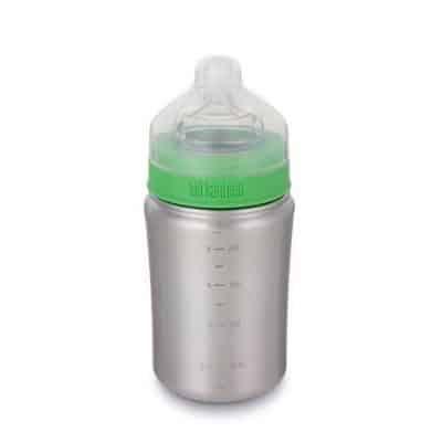 Klean Kanteen Baby Bottle 9 oz from Gimme the good stuff