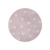 Lorena Canals Round Rug Stars Pink