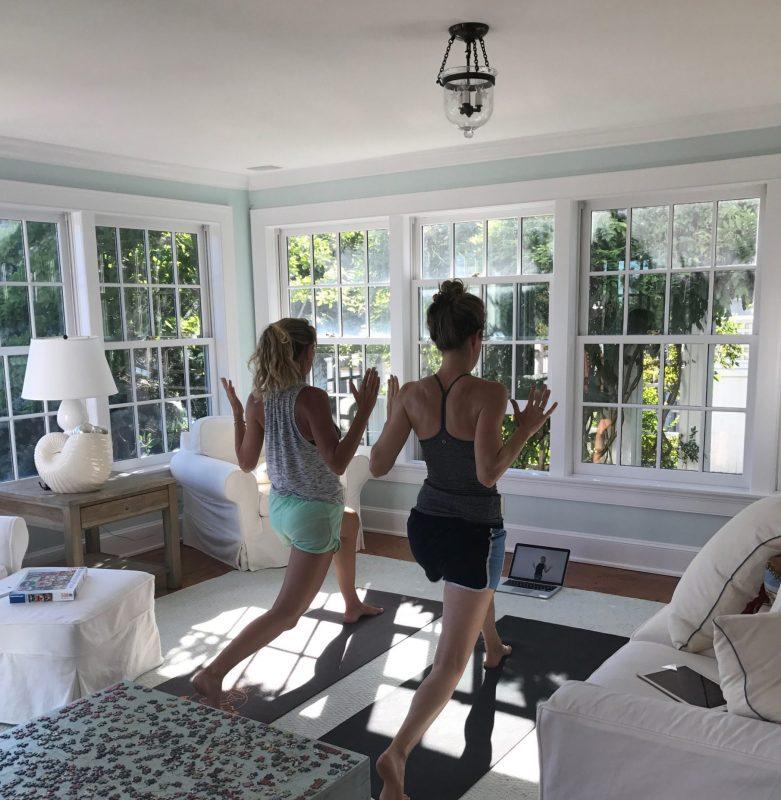 Maia Jess Hanks Yoga Gimme the Good Stuff