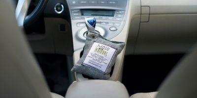 Moso Bag in Car Gimme the Good Stuff