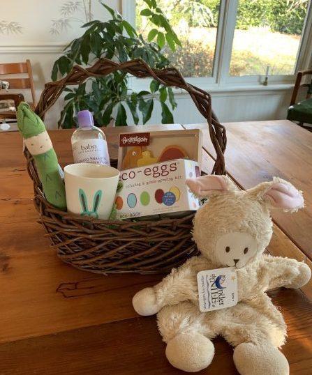 Natural Easter basket bundle in basket gimme the good stuff