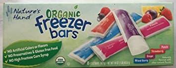 Nature S Hand Freezer Bars