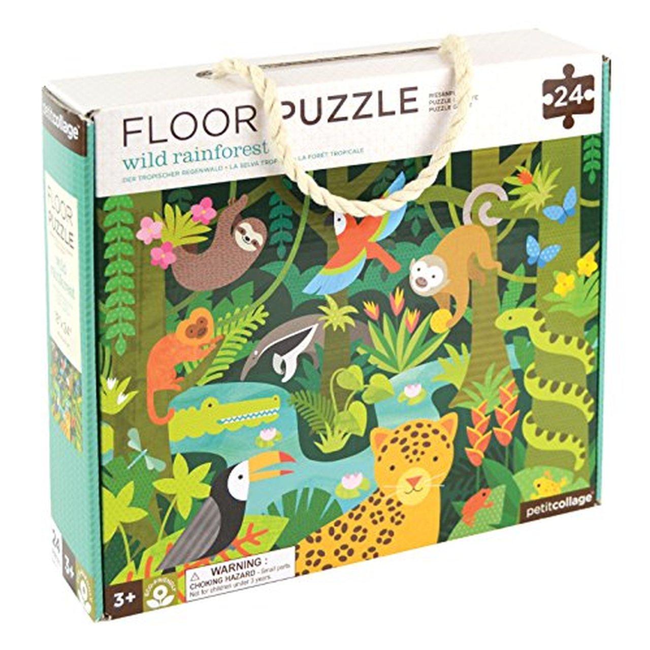 Petit Collage Wild Rainforest 24-Piece Floor Puzzle gimme the good stuff