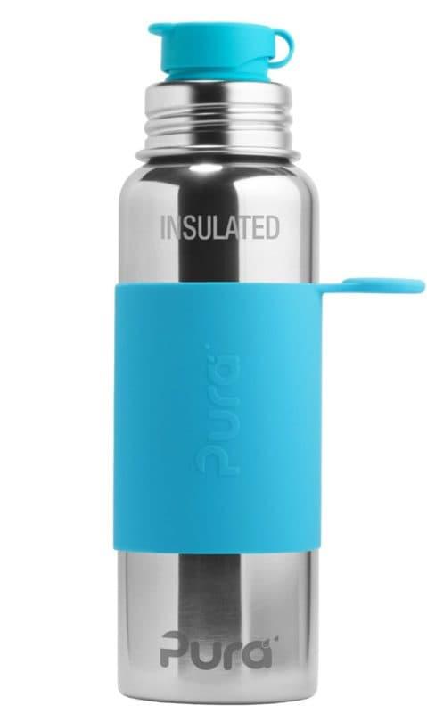 Pura Insulated Sport Bottle Aqua from Gimme the Good StuffPura Insulated Sport Bottle Aqua from Gimme the Good Stuff