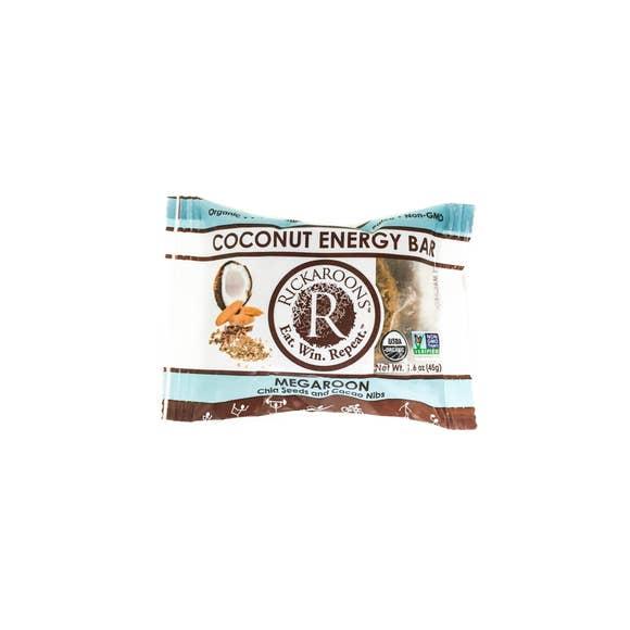 Rickaroons Megaroon Coconut Energy Bar gimme the good stuff