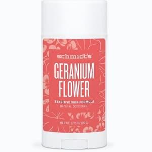 Schmidts Sensitive Skin Deodorant Geranium from gimme the good stuff
