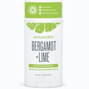 Schmidts Signature Stick Deodorant – Bergamot + Lime