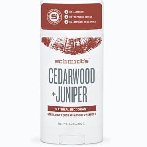 Schmidts Signature Stick Deodorant – Cedarwood + Juniper