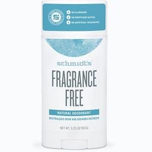 Schmidts Signature Stick Deodorant – Fragrance-Free