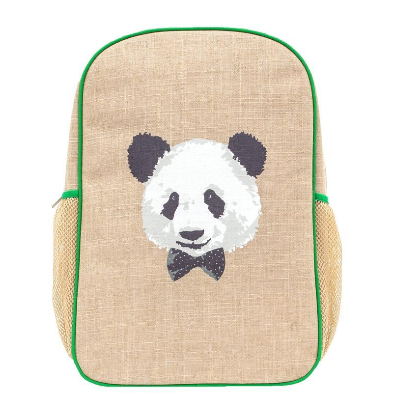 SoYoung Grade-School Non-Toxic Backpack Monsieur Panda gimme the good stuff