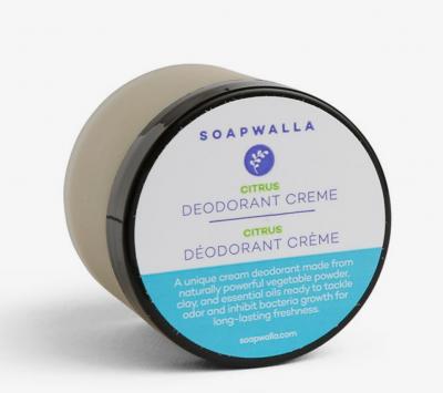 Soapwalla Citrus Deodorant Cream from Gimme the Good Stuff
