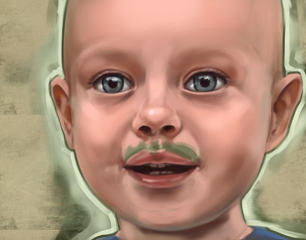 Theo_green-mustache-1
