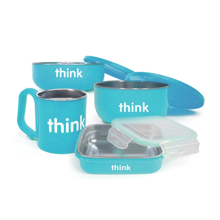 Thinkbaby Complete BPA Free Feeding Set gimme the good stuff