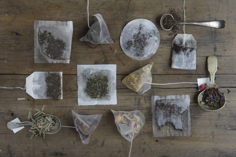 Toxins in tea bags