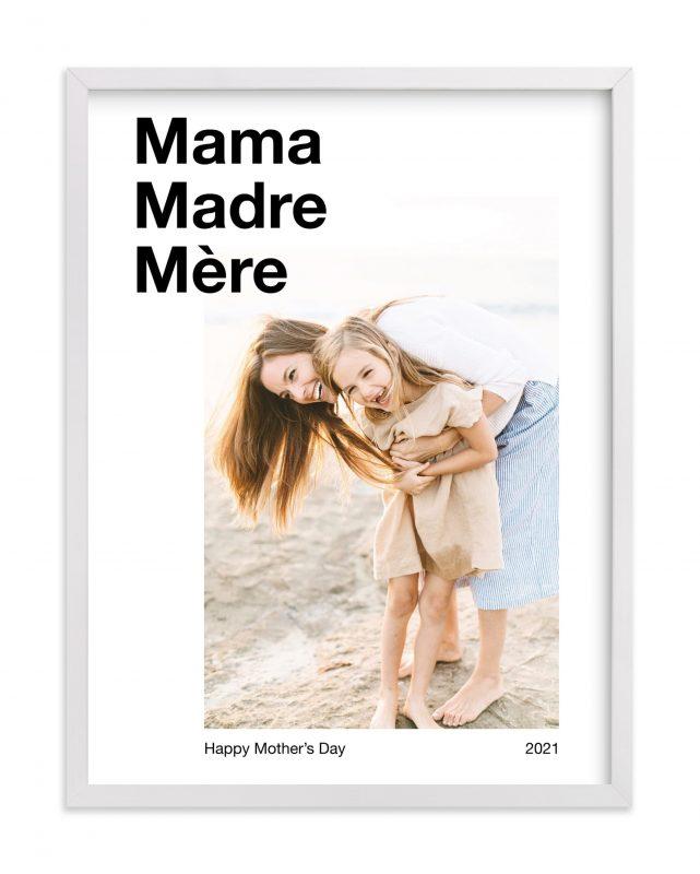 Trilingual Mom Print Minted Gimme the Good Stuff