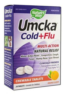 Umcka Cold + Flu Orange Chewable   Gimme the Good Stuff