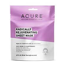 Acure Radically Rejuvenating Sheet Mask