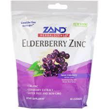 Zand Elderberry Lozenges