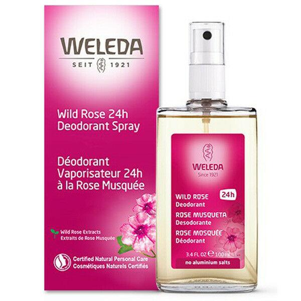 Weleda Wild Rose Spray Deodorant from Gimme the God Stuff