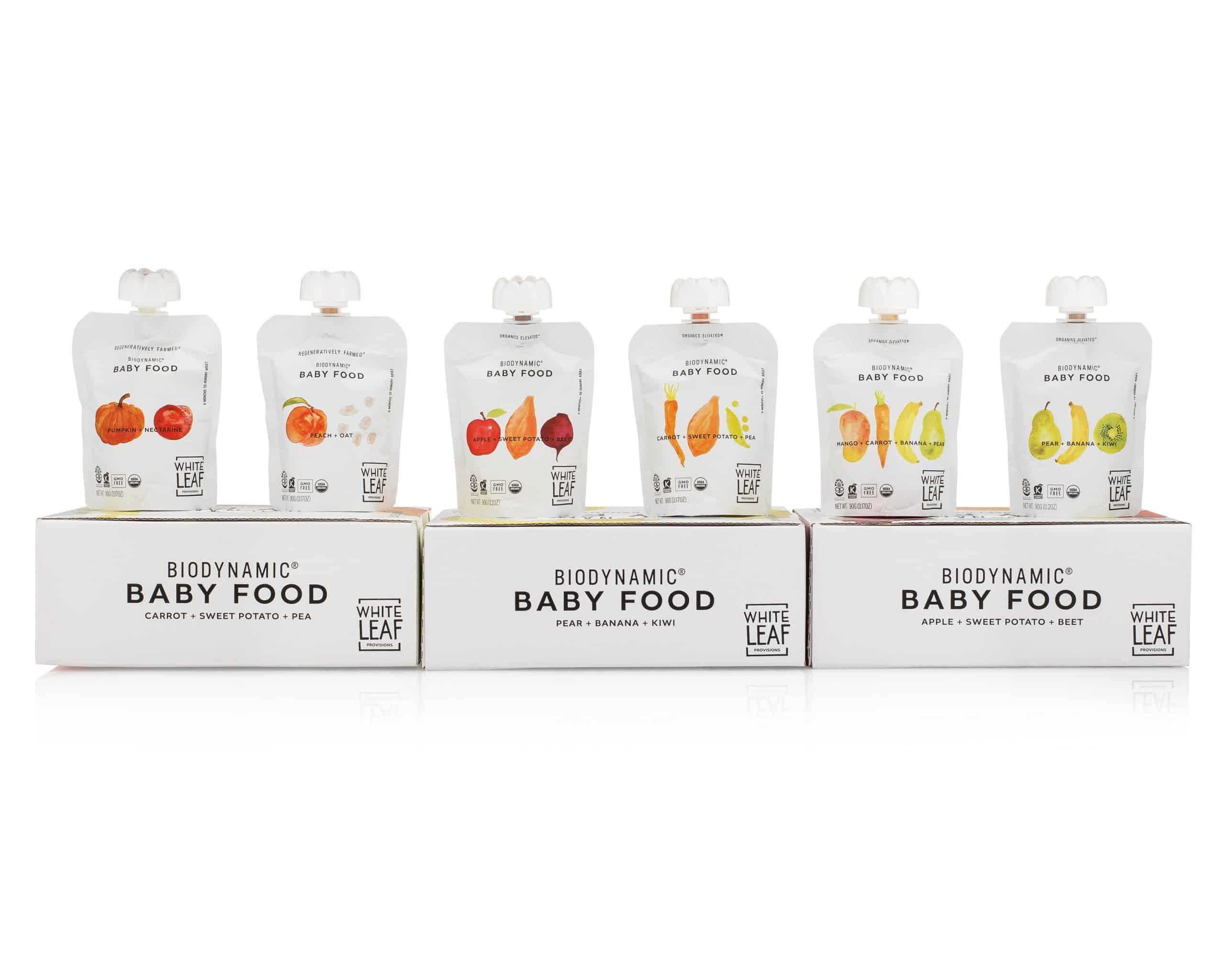 White Leaf Big Baby Food Bundle gimme the good stuff