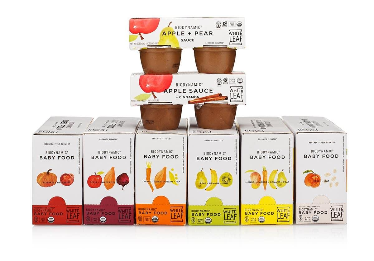 White Leaf Provisions Biodynamic Snack Box gimme the good stuff