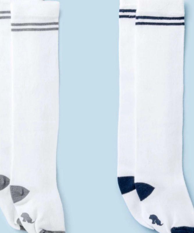 andy and monica newborn tube socks
