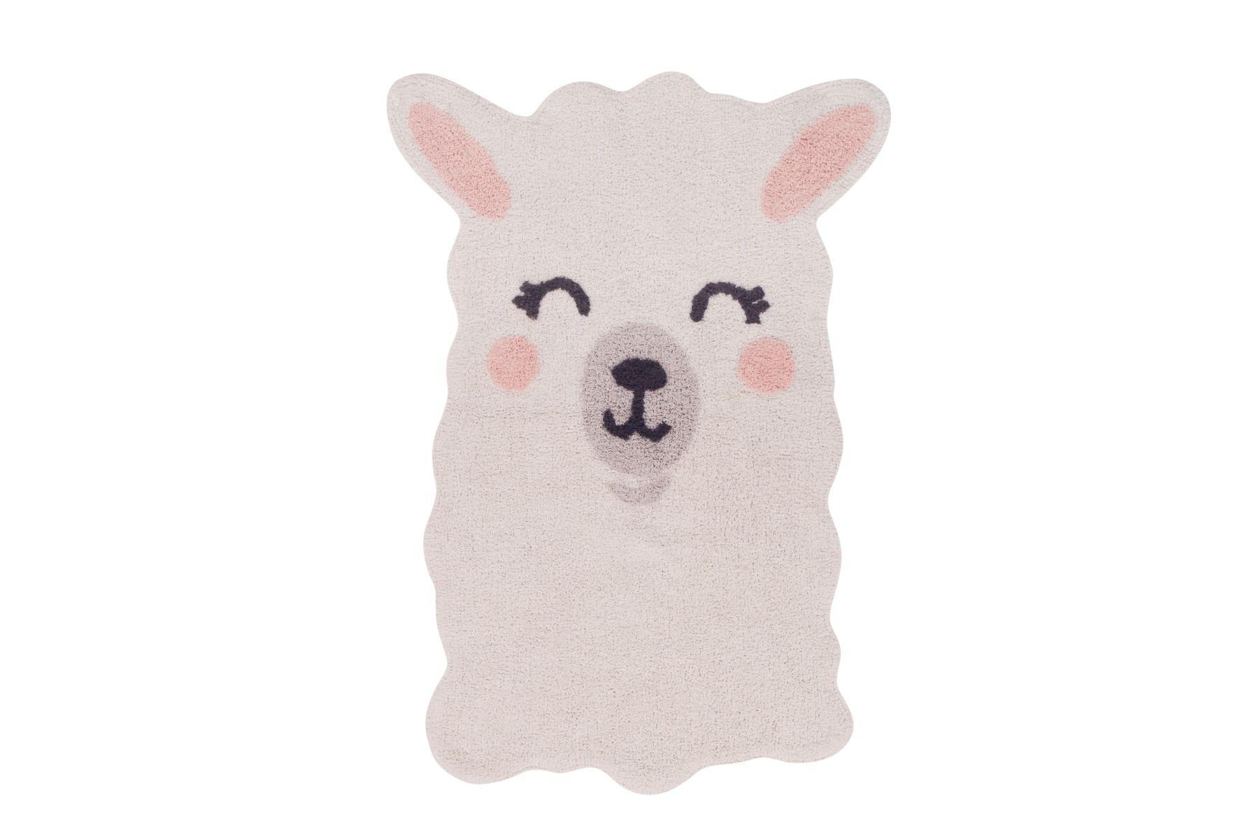 Lorena Canals Smile Like a Llama Washable Rug