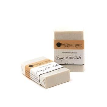 Christina Maser Honey Milk Oats Soap from Gimme the Good Stuff