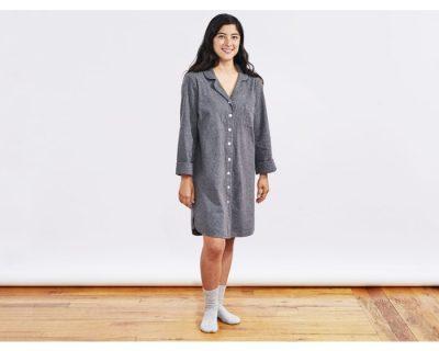 coyuchi organic cotton sleep shirt gimme the good stuff