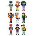 Magnetic Dress Up Dolls Superheroes | Gimme the Good Stuff