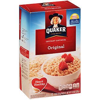 quaker instant oats