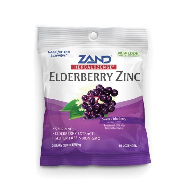 zand elderberry zinc lozenge gimme the good stuff