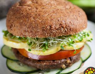 Sprouted burger bun